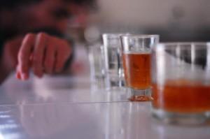 beber pouco
