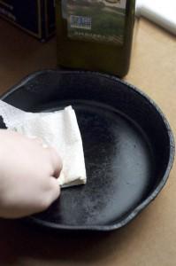limpeza de panelas de ferro